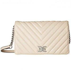 SAM EDELMAN quilted flap shoulder bag